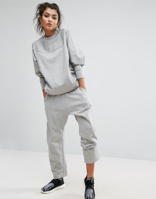 adidas XByO Gray Sweatshirt + adidas XByO Gray Sweatpants