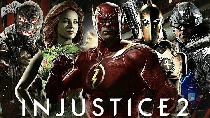Injustice 2 - ALL CHARACTERS REVEALED SO FAR!