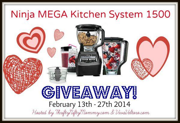 Ninja Mega Kitchen System Giveaway