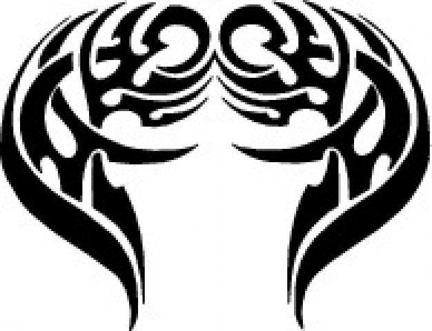 Tribal wings design