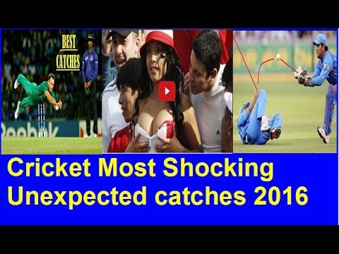 Cricket Most Shocking Unexpected catches 2016