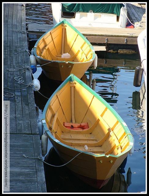 Grand Banks Dories Await The Races by captjoe06, via Flickr