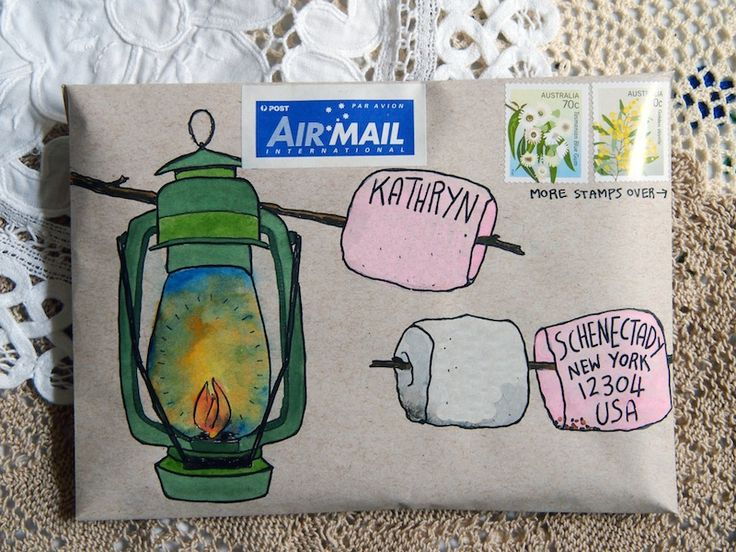 mail art                                                                                                                                                                                 More