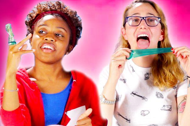 Flavor Condom Taste Test