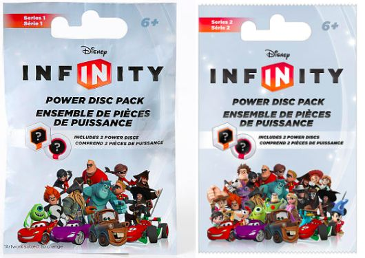 ToysRUs: Disney Infinity Power Disc Packs Series 1-3 Only $0.25 Each (Regularly $4.99!)