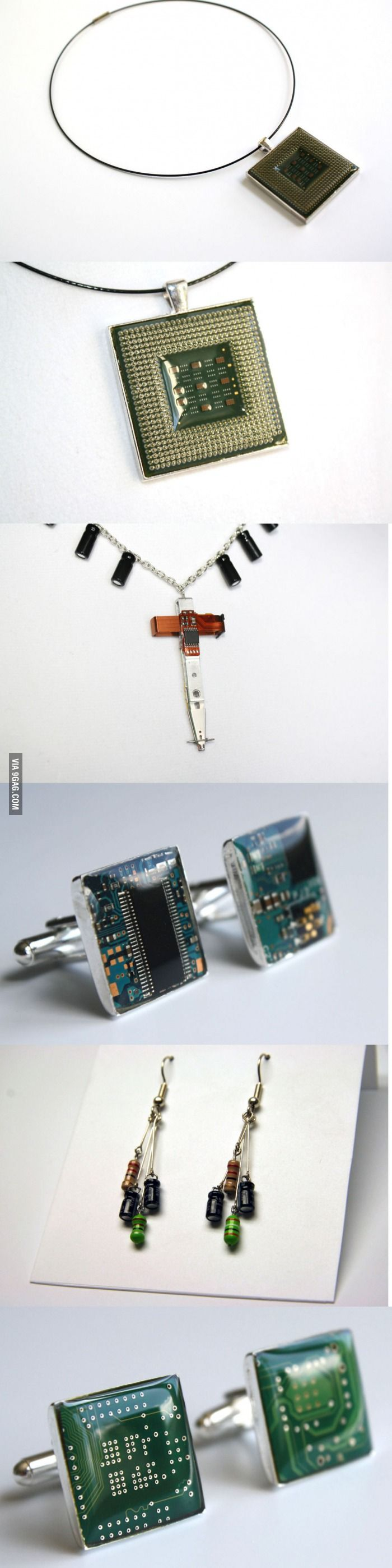 Tech Jewelry - seriously, where can i get this?: Functional Jewelry, Geeky Fun, Tech Fashion, Funny Pics, Tech Jewelry, Jewelry Accessories, Tech Jewellery, Tech Jewlery, Geeky Fashion