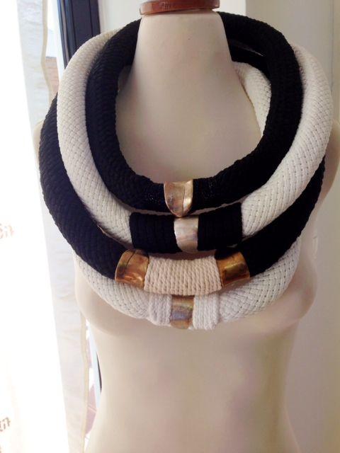 chic n simple Yiota Vogli rope jewelry
