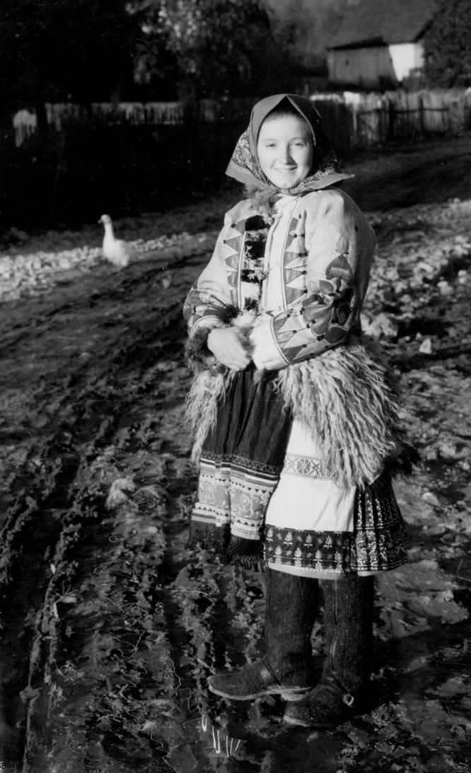 Slovak folk costume from Važec, Slovakia