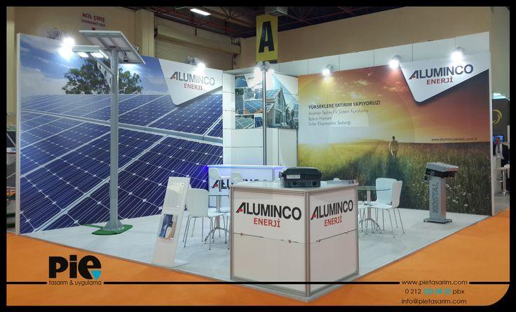 Solarex Fuarı ''ALUMINCO'' Stand Uygulamalarımız