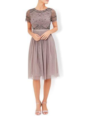 Tulip Embellished Dress