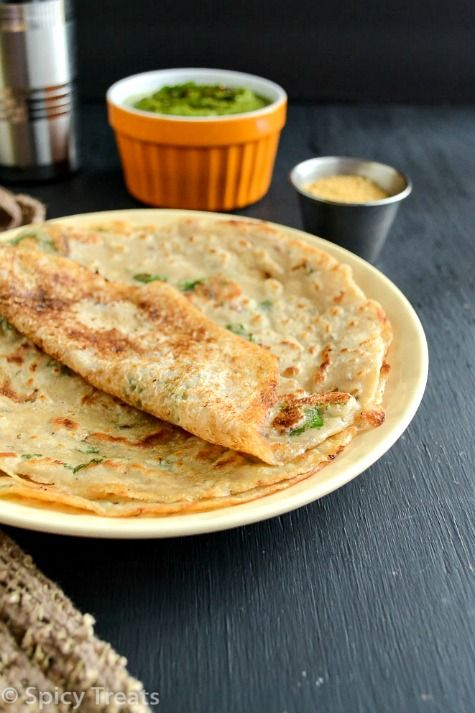 Spicy Treats: Godhuma Dosai / Wheat Dosa / Wheat Flour Dosa - Easy Breakfast Recipes !