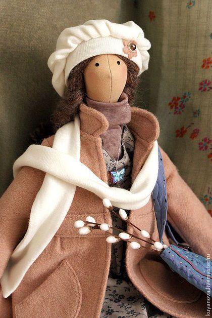 Верба. Кукла в стиле тильда. - бледно-розовый,тильда,кукла ручной работы
