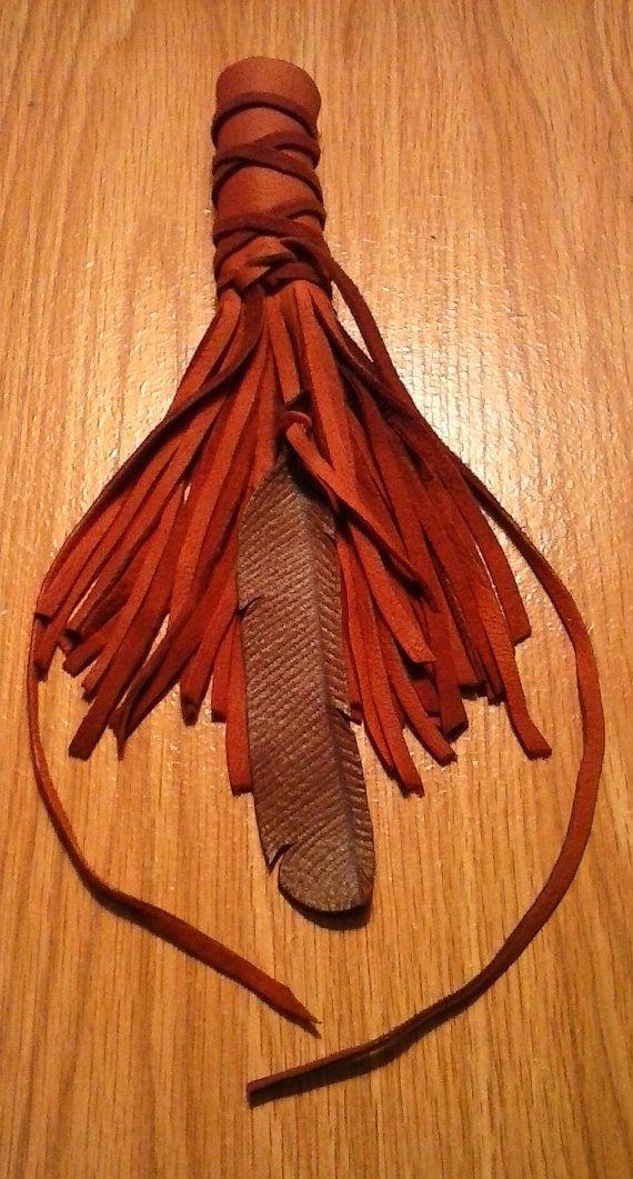 Leather Hair Wrap  Braid Hair Wrap  Tribal Hair by ElusiveWolf