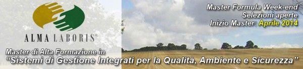 Master formula week-end in sistemi integrati qualità, ambiente e sicurezza - milano a MILANO - Master in Certificazioni di qualità a MILANO ...