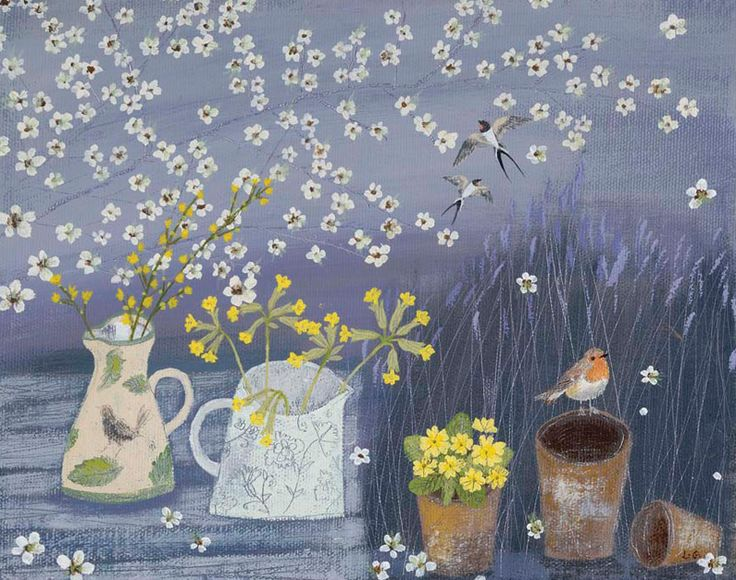May Blossoms by Lucy Grossmith