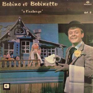 Vintage 1968. Collection. Disque 33 tours Bobino & Bobinette