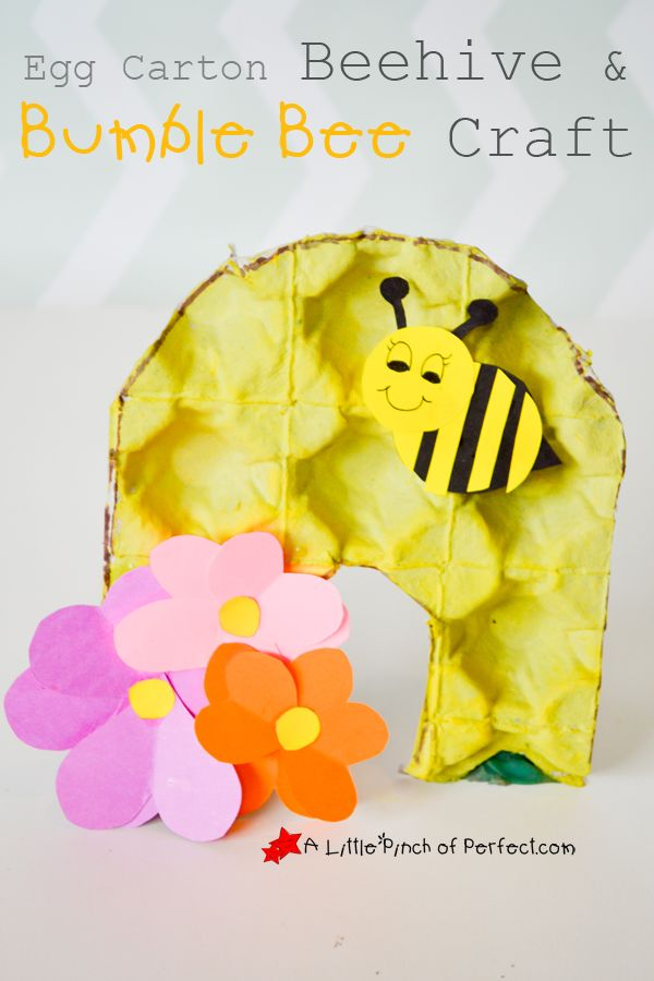 To go along with our Bee Activities, we made a Beehive out of a recycled Egg Carton and I love how they turned out. Painting on egg cartons is a fun new experience and the bumps make an awesome looking honeycomb pattern. Today's post is part of the Kids Craft Stars monthly challenge; Crafting with …