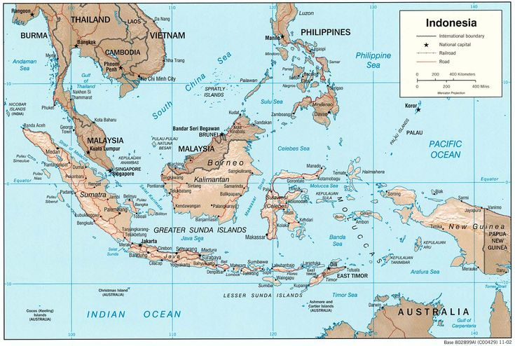indonesia | Indonesia Maps - Perry-Castañeda Map Collection - UT Library Online