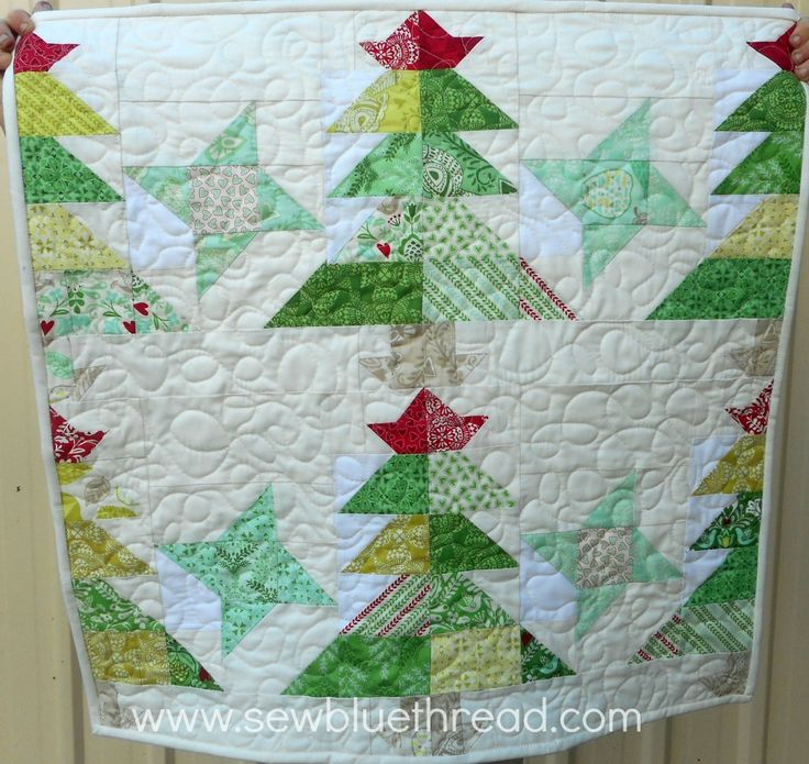 """'Starry Eve' by Marsha Nicoll at Sew Blue Thread.  Quilt measures 28"""" x 28"""".   PDF pattern at my Etsy store."""