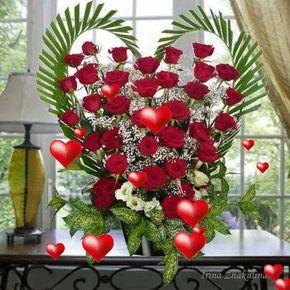Reggeli kávé,Kellemes hétvégét,Villogó szivek,Csokor rózsa,Rózsaszálak,Puszi,Kellemes napot,Szeretettel,este,vörös rózsa, - gosztmagdi Blogja - Festmények ,Humor,Képek ,Receptek,Versek,Viccek,Video,Ünnepek,