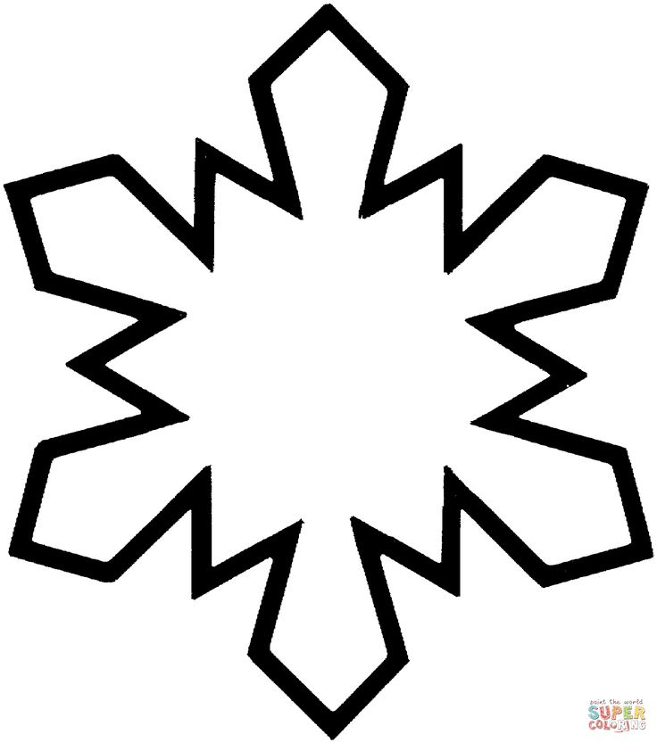 the 25 best snowflake coloring pages ideas on pinterest snowflake pattern snowflake template and snowflake printables - Christmas Snowflake Coloring Pages