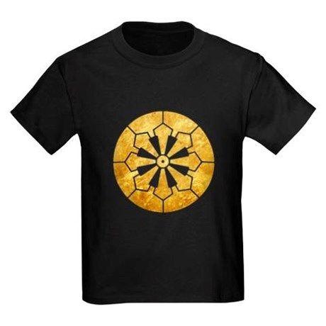 Sanja Matsuri Komagata mon gold T-Shirt on CafePress.com