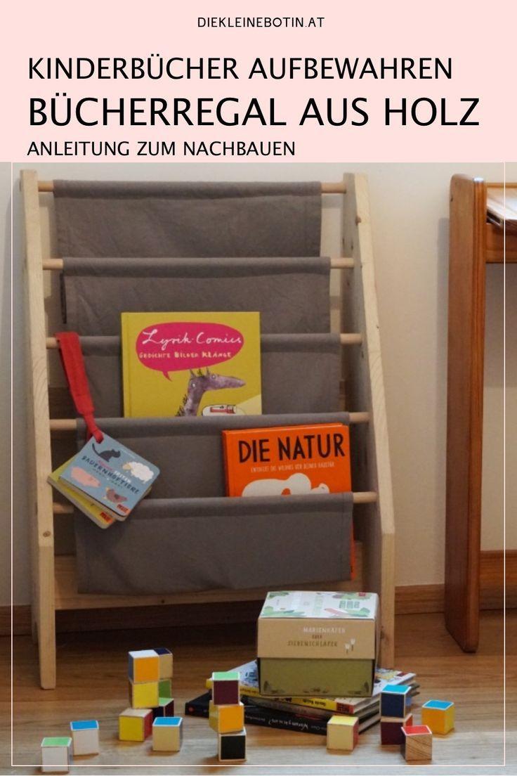 Kinderbuch Diy Fur Ein Einfaches Holzregal Regal Kinder