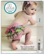 NEW! Baby Nappy Cover Bloomers Kwik Sew Ellie Mae K102 Pattern FREE AUST POST!