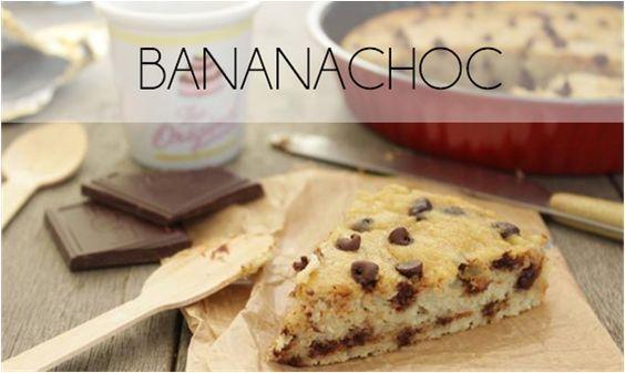 Le bananachoc (sans sucre, ni beurre ajouté)