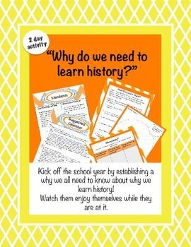 """reasons why we study history Some college history departments now take pains to woo students,  so, social  studies teachers, """"why do people like history after they leave."""