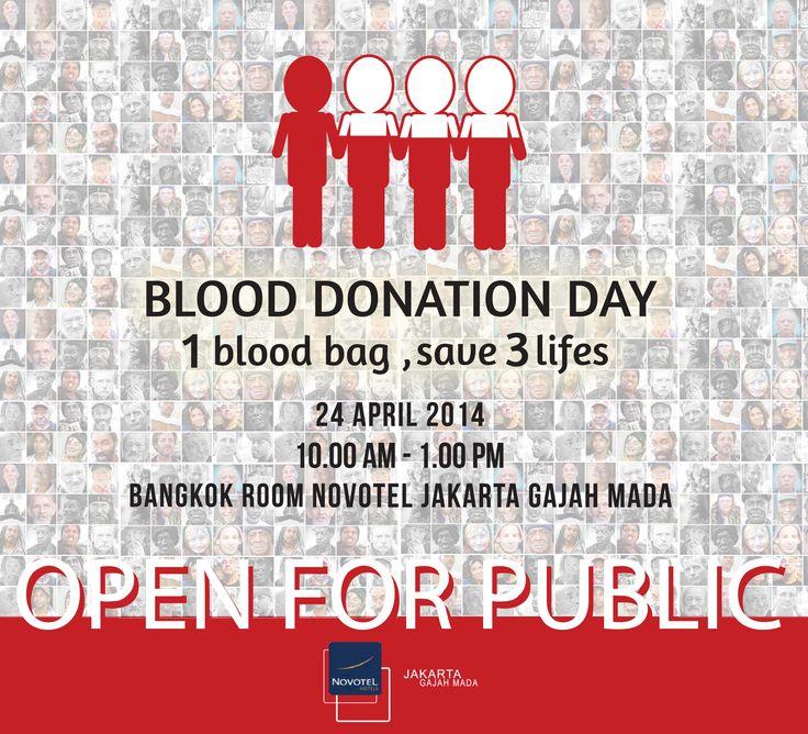 Flyer Donor Darah