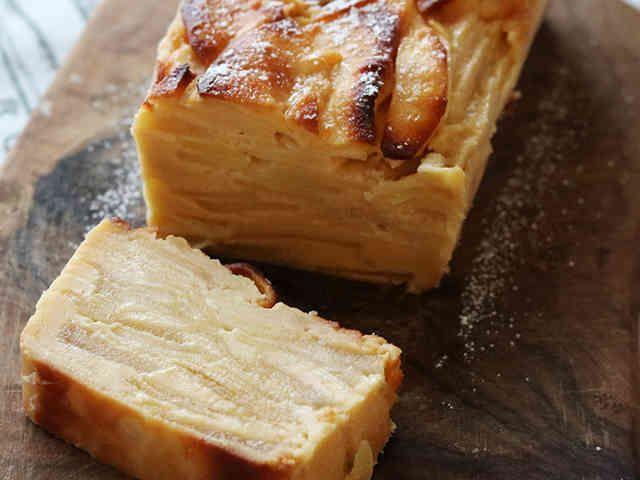 フランスの林檎ケーキ ガトーインビジブルの画像