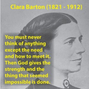 clara barton quotes - Google Search