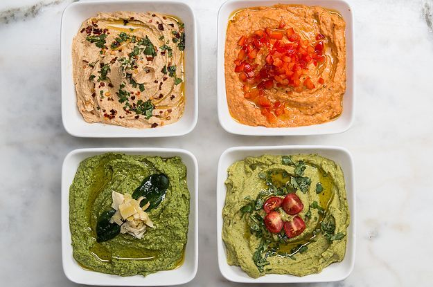 Are You A Hummus Lover? Then You NEED Try These 4 Delicious Versions Of The Best Snack On Earth