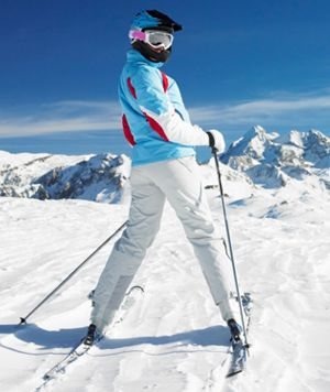 Learning how to ski? These five ski tips from two-time Olympic gold medalist Shannon Bahrke will have you ready to hit the slopes. She shares what to wear, what you can do to get ready, and common ski mistakes you shouldn't make.