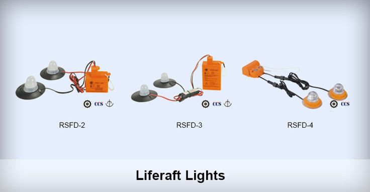 Liferaft Lights Comply with SOLAS 1974 and latest amendment Flare time: more than 12 hours Illuminant: LED Luminous Intensity: Outer light:more than 4.3cd inner light: more than 0.5cd Flash frequency: 50-70 times/min Validity: 5 years Certificates: EC CCS