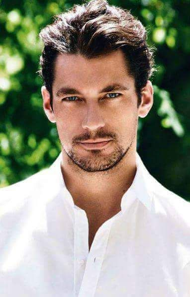 This picture of David Gandy was the perfect personification of Gideon Cross (Crossfire Series).