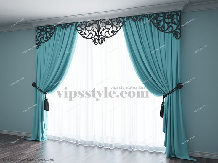 "Студия декора ""VIP's style"" (WWW.VIPSSTYLE.COM). Каталог 2015. Лазерная резка. Ажурный ламбрекен М021. (Laser cutting. Window decor)"