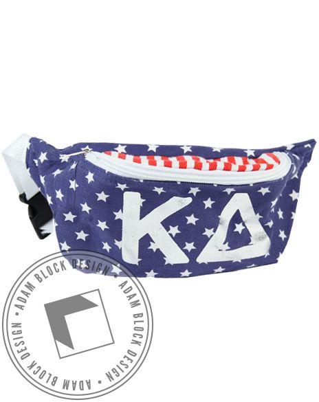 Kappa Delta Flag Fannypack by Adam Block Design