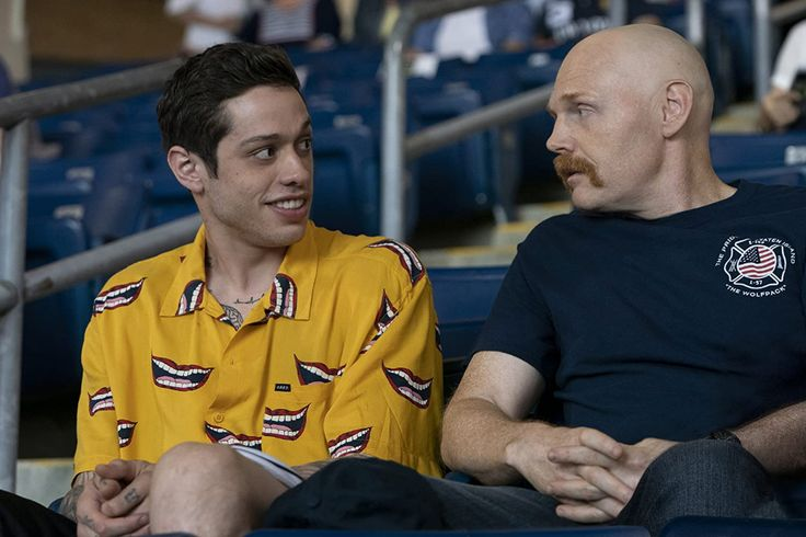 Bill burr and pete davidson in the king of staten island