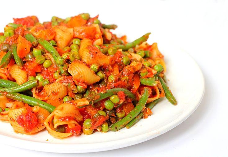 Studentenmaaltijd #1: Eenpanspasta vol groenten