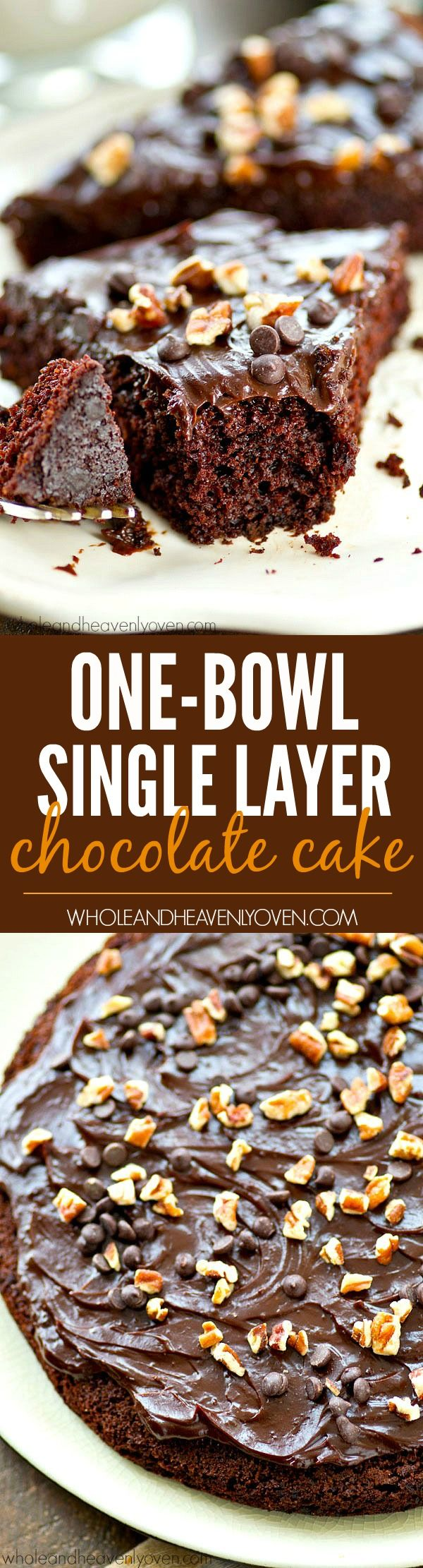 Got a chocolate craving? Fix it the easy way with this single-layer, super-moist chocolate cake that mixes up in one bowl in only a few minutes.---Chocolate cake without all the fuss!