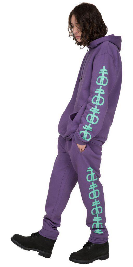 Dead Legs Purple/Jade
