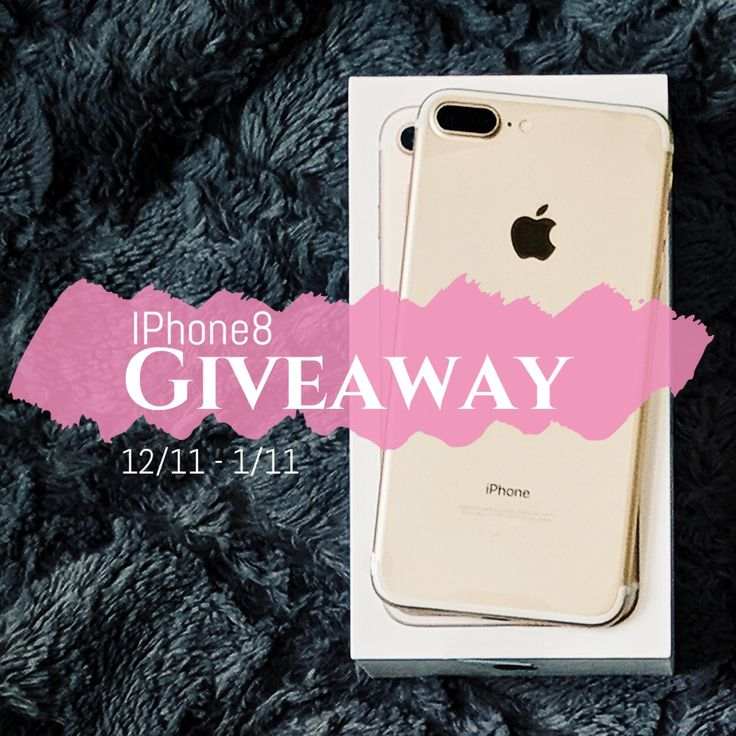End Date: 1/11/2018, Eligibility: US Enter to #win this #giveaway from It's Our Fab Fash Life. One follower will win a 64gb, iPhone 8, in rose gold.