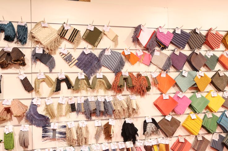 LINEAPELLE fair textiles and fabrics #fallwinter 2017-2018 trends