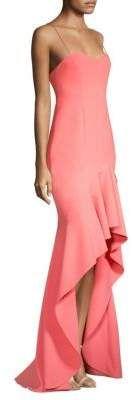 LIKELY Vita Ruffle Gown #gowns #prom #promdresses #eveningdresses #eveninggowns #prettygirl
