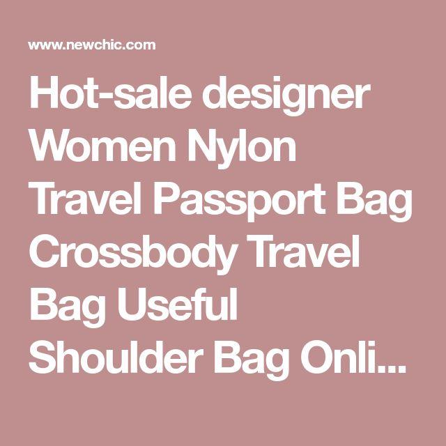 Hot-sale designer Women Nylon Travel Passport Bag Crossbody Travel Bag Useful Shoulder Bag Online - NewChic Mobile