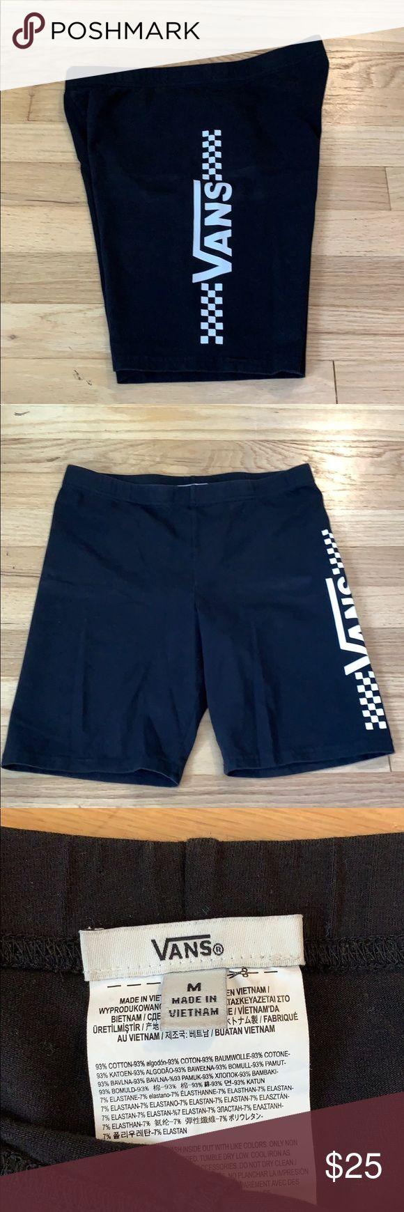 """Vans Biker Shorts High Waisted Vans biker shorts   7"""" inseam. Size M. Vans Sho..."""