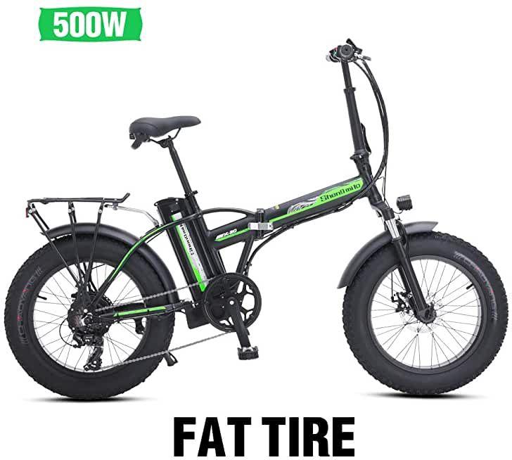 Shengmilo E Bike Elektrofahrrad 20 Zoll E Bike Mountainbike Klappbar Electric Fahrrad Ebike In 2020 Elektrofahrrad Fahrrad Pedelec