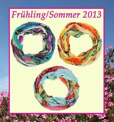 Rundschal, Loopschal, Schlauchschal Frühling/Sommer 2013 Schmetterling € 10,90